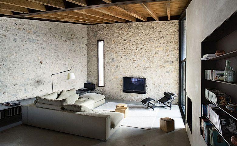 Casas minimalistas y modernas rustico y moderno alemanys for Casas minimalistas vintage