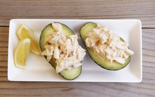 AVOCADO & CRAB WITH MARIE ROSE SAUCE