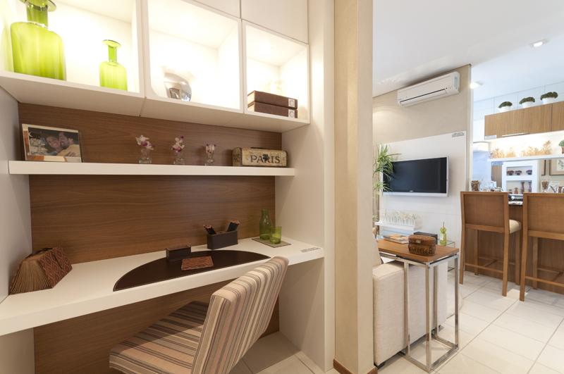 decoracao de interiores para escritorios : decoracao de interiores para escritorios:Para o caso de todos da casa usarem o espaço do Home Office, o mais