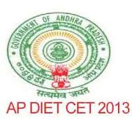 dietcet.cgg.gov.in - DIET CET Web Counselling Schedule 2013