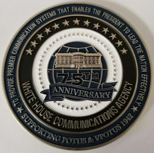 WHCA 75th Anniversary Seal