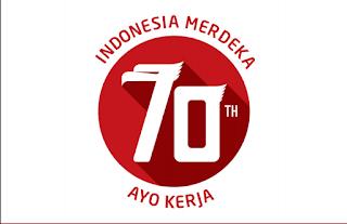 MAKNA LOGO KEMERDEKAN REPUBLIK INDONESIA YANG KE 70 | Blog Brema
