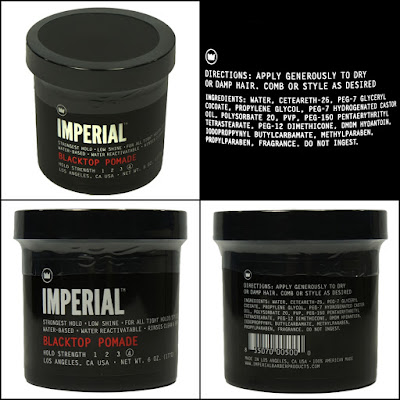 Imperial Pomade - Black Top Strong Hold