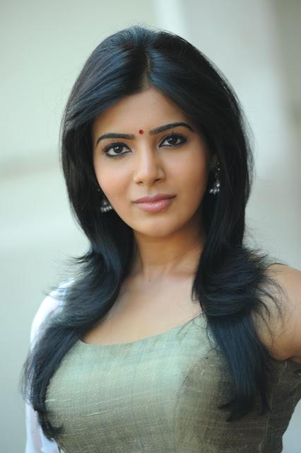 Samantha half saree stills