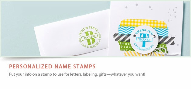 New Personalized Stamps!