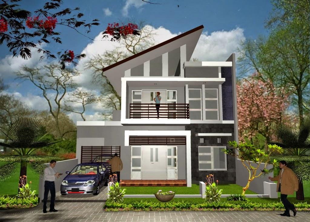 Gambar Rumah Minimalis 2015 Sederhana Desain Modern - Model Rumah ...