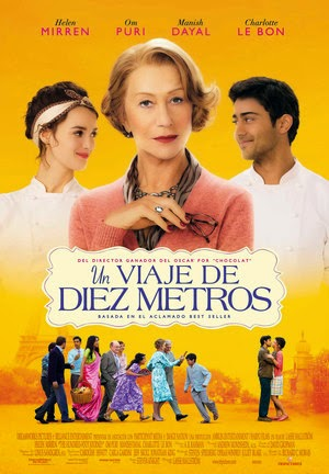 Poster The Hundred-Foot Journey 2014