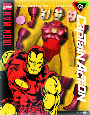 Take 2 Captain Action Iron Man Costume Set