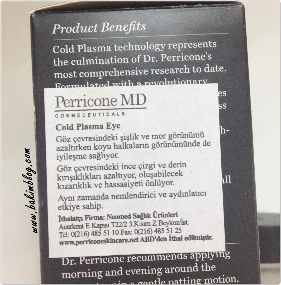 perricone md cold plasma eye yorumlari goz kremleri