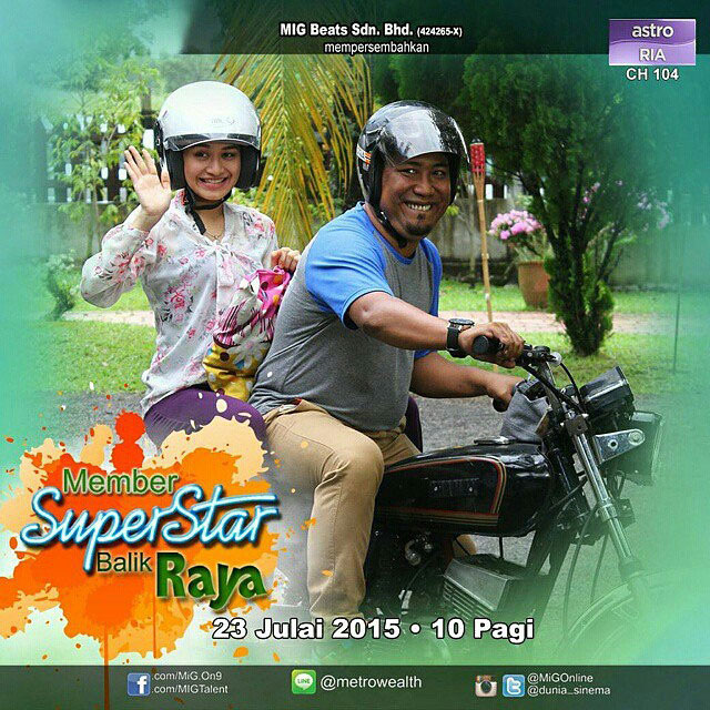 Member Superstar Balik Raya