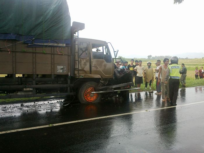 Accidents during the rainy season in Bali