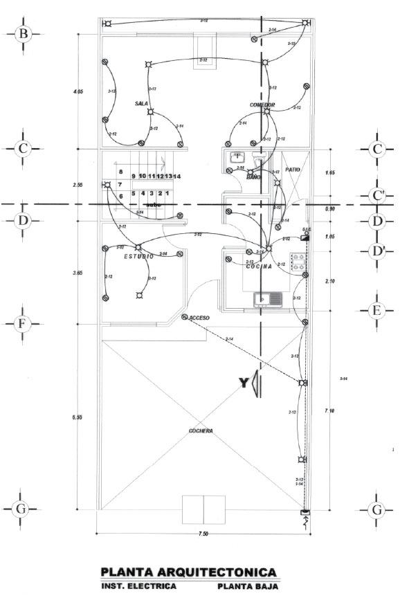 Instalaciones el ctricas residenciales interpretaci n de planos el ctricos segunda parte - Tuberia para instalacion electrica ...