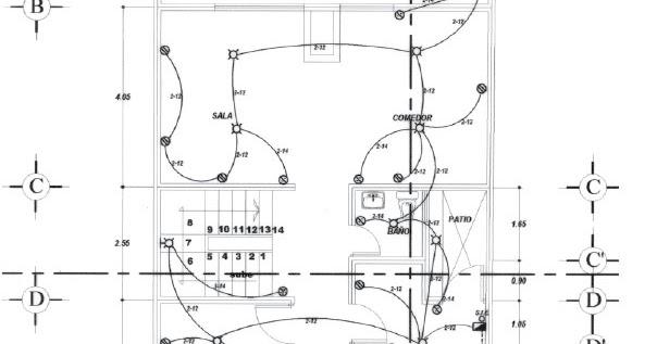instalaciones el u00e9ctricas residenciales  interpretaci u00f3n de