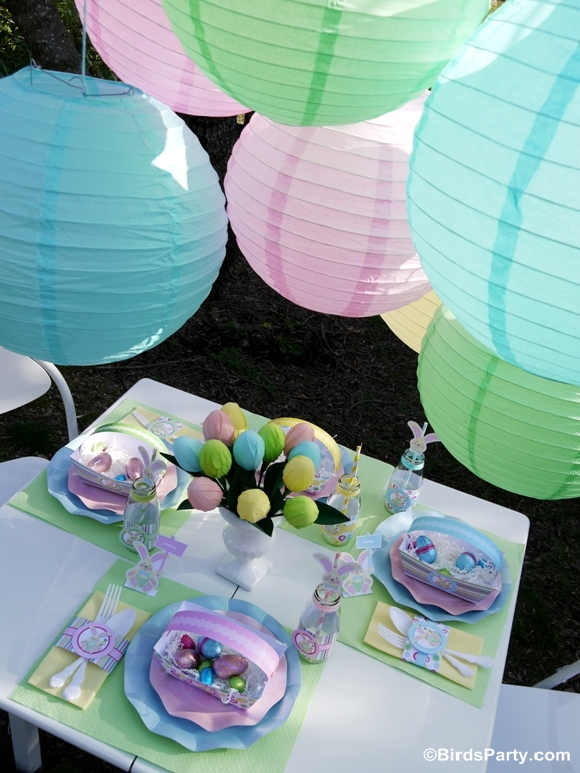 Kid's Easter Egg Hunt Party and Printables