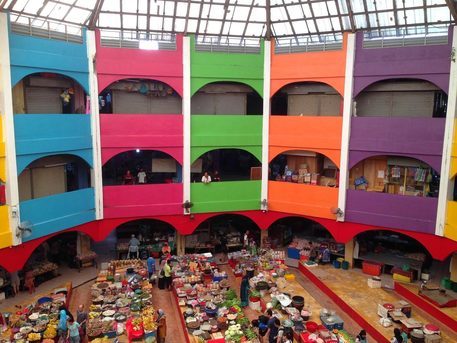 Pasar Besar Siti Khadijah- Interior