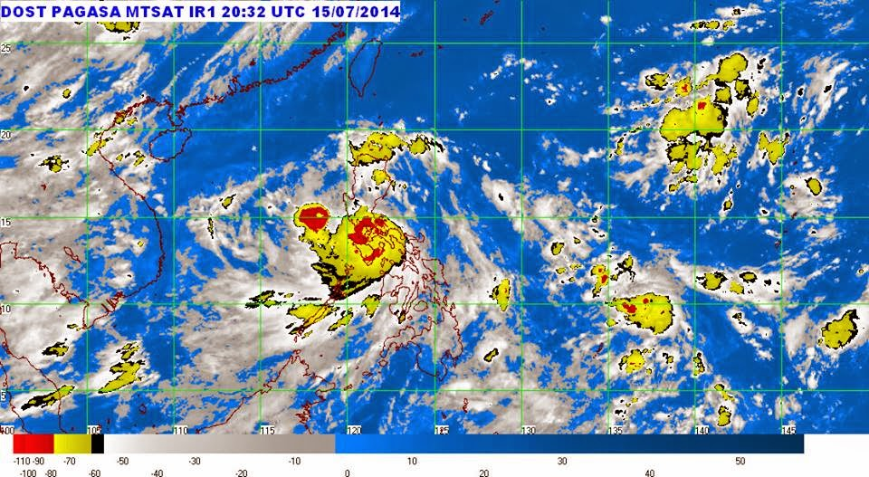 'Typhoon Glenda' accelerates, enters Metro Manila today, July 16, 2014