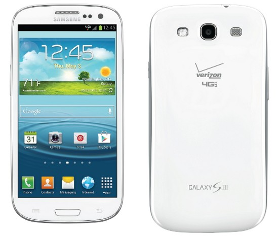 verizon samsung galaxy s3 iii contract plan