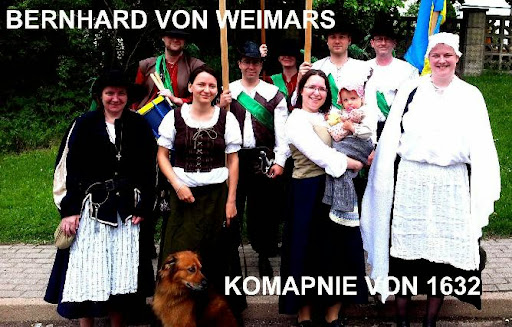 BERNHARD VON WEIMARS KOMPANIE VON 1632