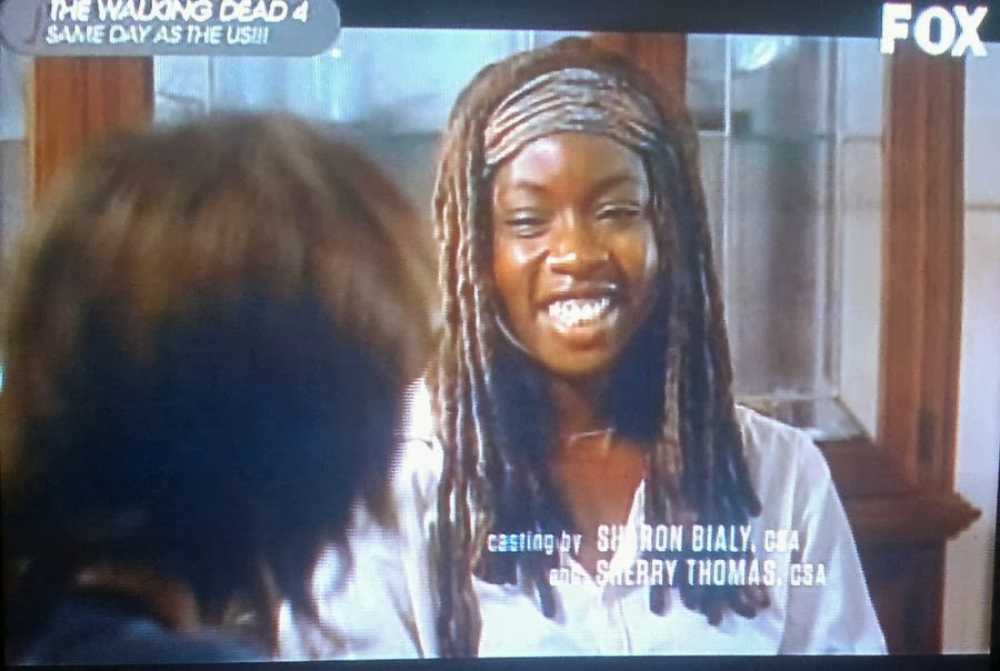 Walking Dead Season 4 Episode 11, Walking Dead Claimed, Michonne, Rick Grimes, Daryl Dixon