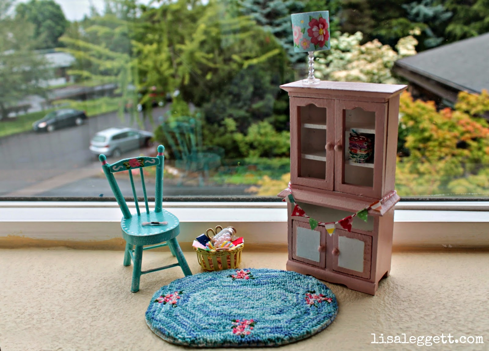 Mini Craft Room Things by Lisa Leggett