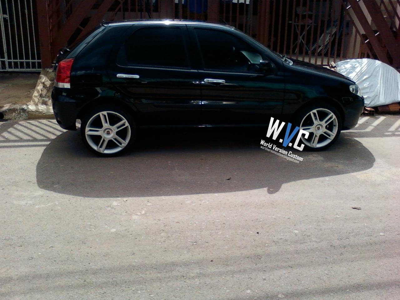 World Version Custom Carro Do Internauta Palio Rodas