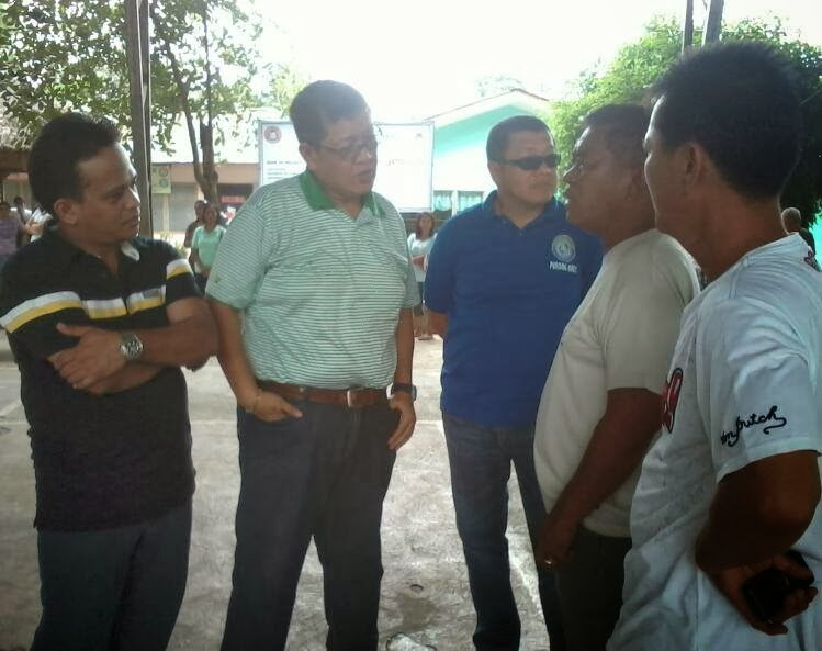 YOUR BARANGAY OFFICIALS IN ACTION