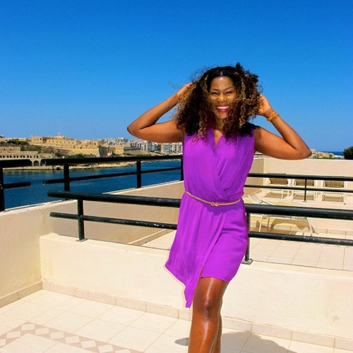 stephanie okereke vacation malta europe