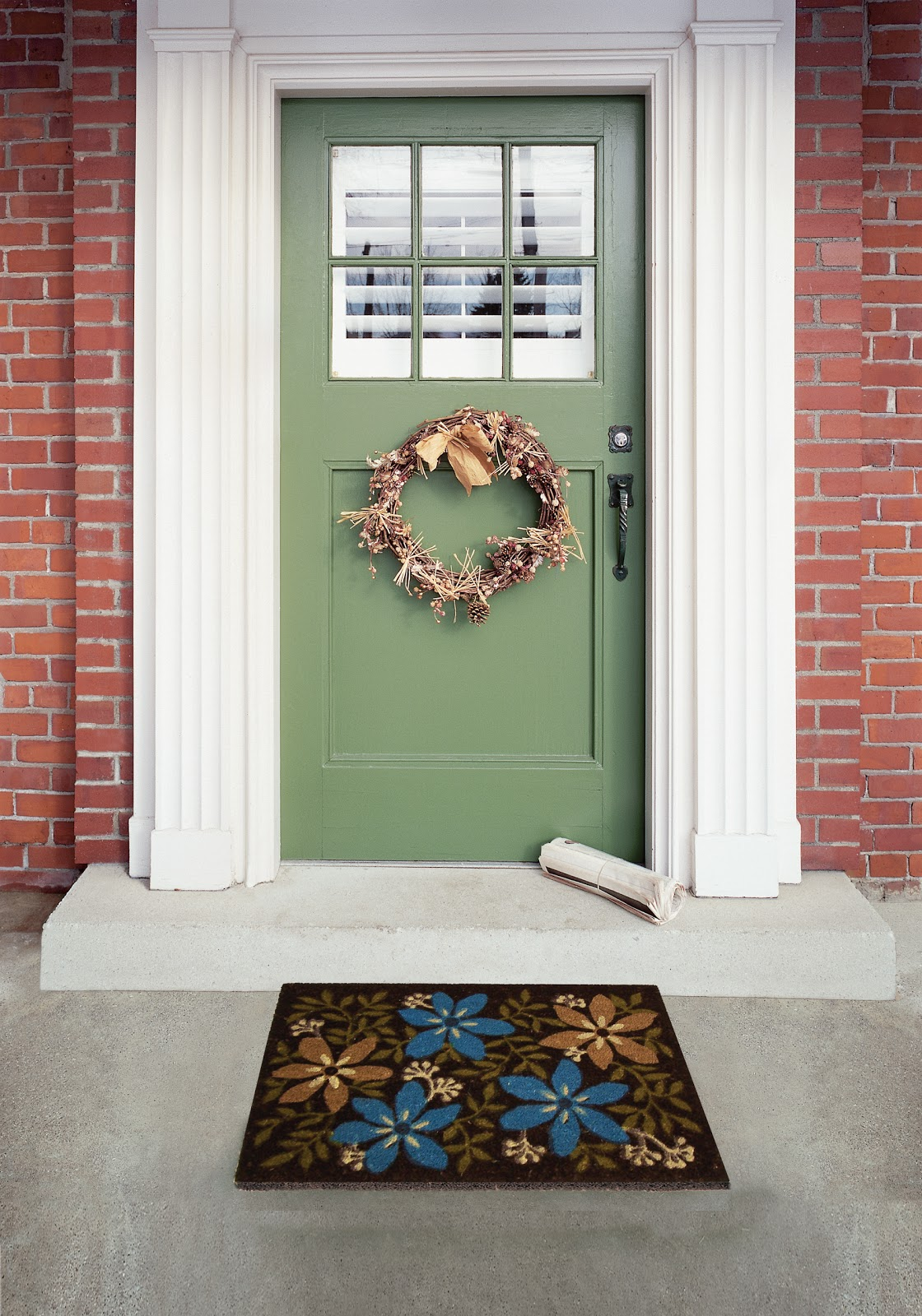 The floor decor blog this spring find a clutter cure for 1950s front door designs