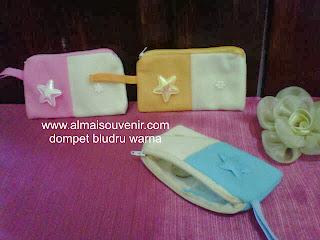 Souvenir dompet hp bludru, souvenir dompet murah, souvenir dompet, souvenir pernikahan