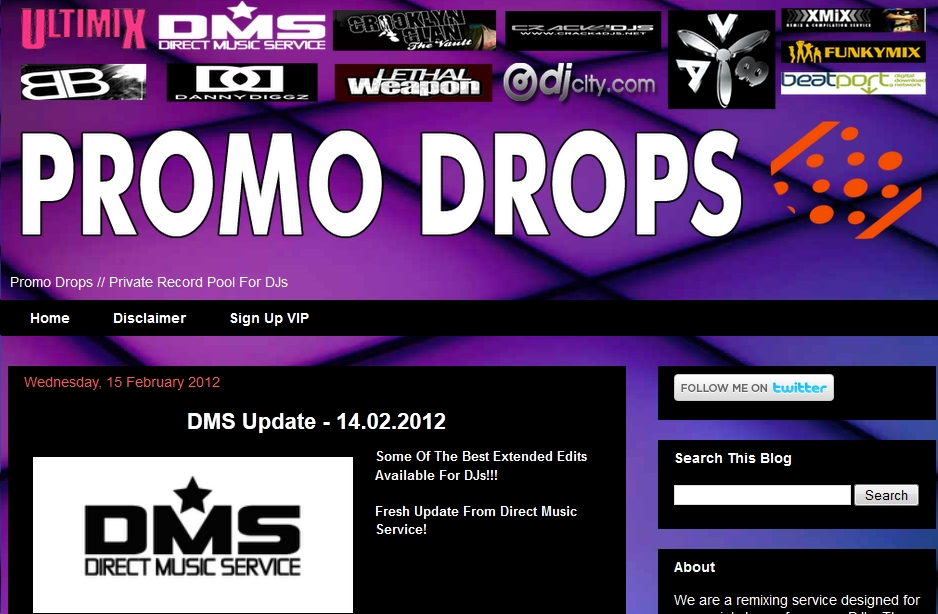 Promo Drops, All For DJs Illegal Websites. For the past couple of years i ...