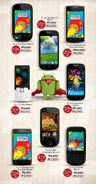 O+ Plus USA Android PhonesBack to School Sale Price