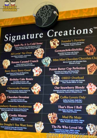 cold stone signature creations