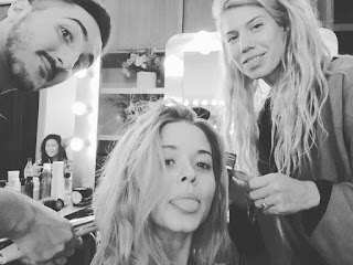 Sasha Pieterse BTS PLL Photo Shoot