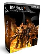 DAZ 3D Studio 4 Original Full Free 1