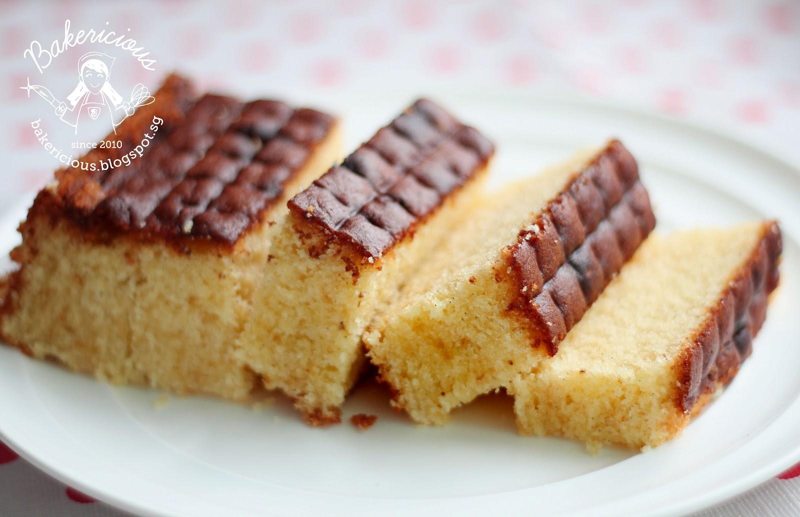 Bakericious: Mrs NgSK Vanilla Butter Cake