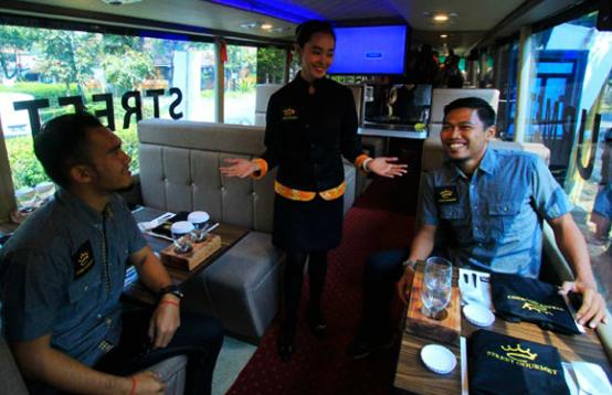 wisata bus restoran Bandung