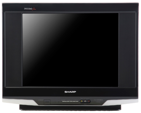 Abadi Elektronik: CRT TV Sharp Piccolo Slim