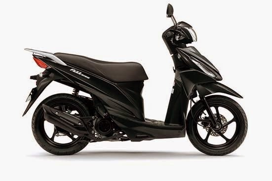 Suzuki Address Metallic Titan Black
