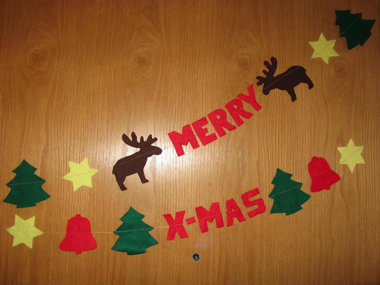 Kreativ oder primitiv weihnachtsgirlande - Weihnachtsgirlande basteln ...
