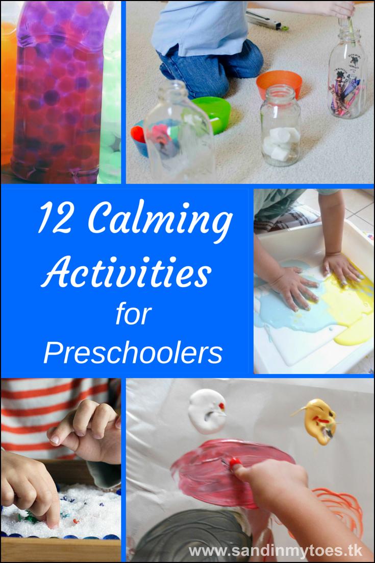 12 Calming Activities for Preschoolers | Sand In My Toes