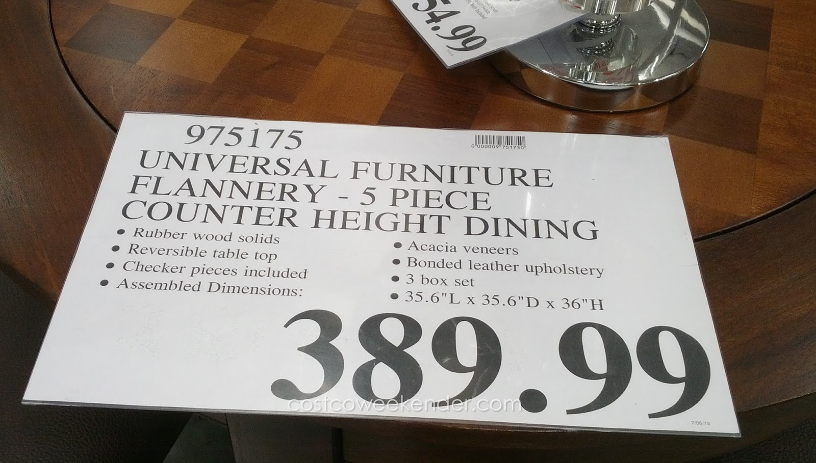 Charming Deal For The Universal Furniture Broadmoore Flannery Counter Height Dining  Set At Costco