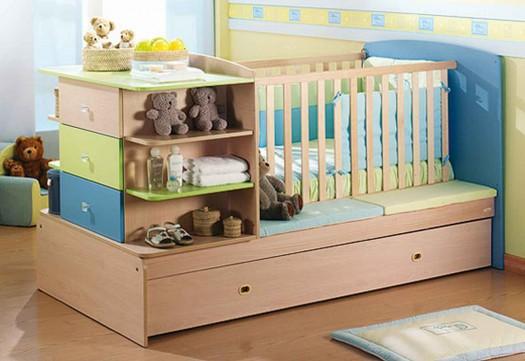 Tendencias de muebles para el dormitorio de bebes y ni os for Muebles habitacion ninos