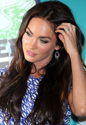 Megan Fox Sterling Dangle Earrings