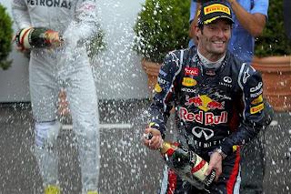 FÓRMULA 1-Webber es el nuevo ganador de los GP que llevamos en 2012