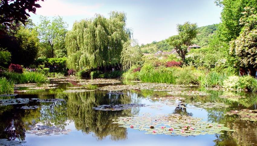 Illustr acchierando impressione e fiori a giverny parte i - Giardino delle ninfee ...