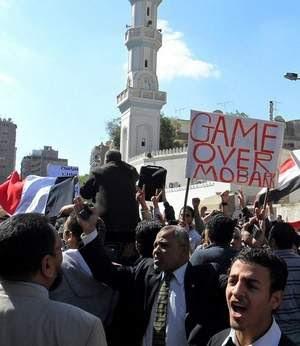 REBELION EN MEDIO ORIENTE  Mubarakstepsdown