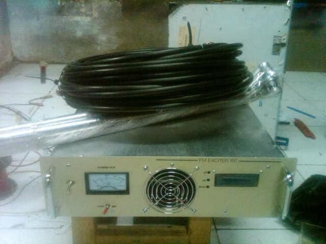 Paket Pemancar fm 150 watt