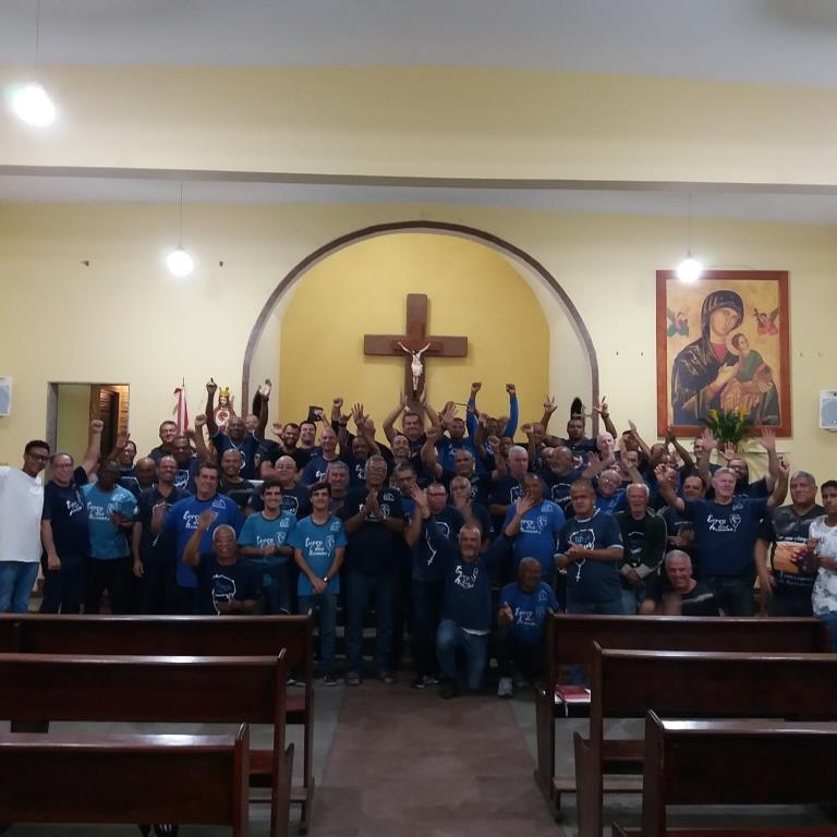 TERÇO NA PARÓQUIA NOSSA SENHORA DO PERPÉTUO SOCORRO NO JESUÍTAS EM 29/07/2019