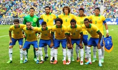 Skuad Timnas Brasil Piala Dunia 2014