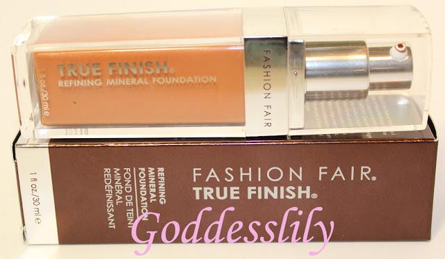 Fashion Fair Chic Cinnamon True Finish Mineral Foundation